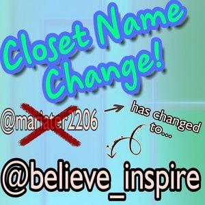 Other - Name Change!!